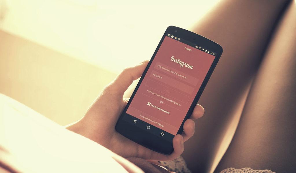 informações sobre o Instagram para designers