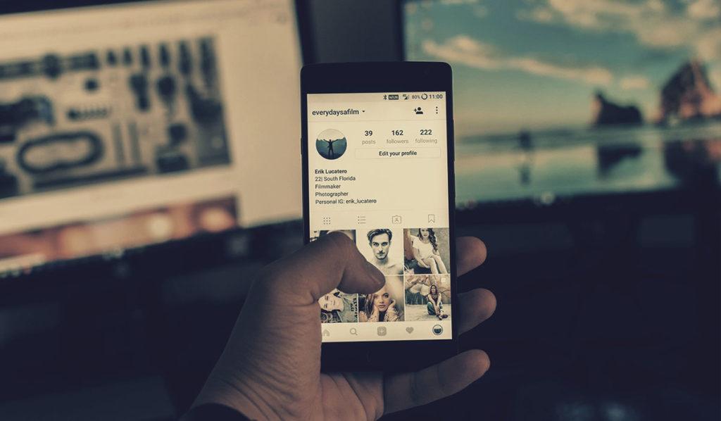 migrar para perfil comercial no Instagram