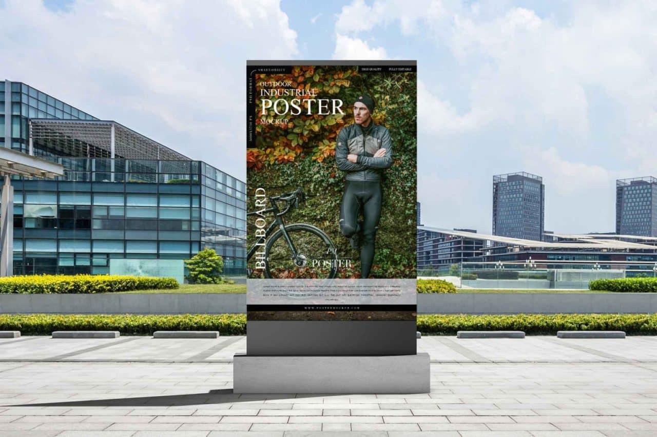 mockup outdoor insdustrial billboeard poster psd gratis designe 1280x853 1