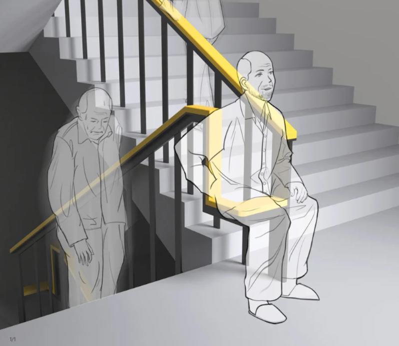 descanse por um tempo na escada staircase shenzhen jinwei compania de inovacao de design 2 designe 1