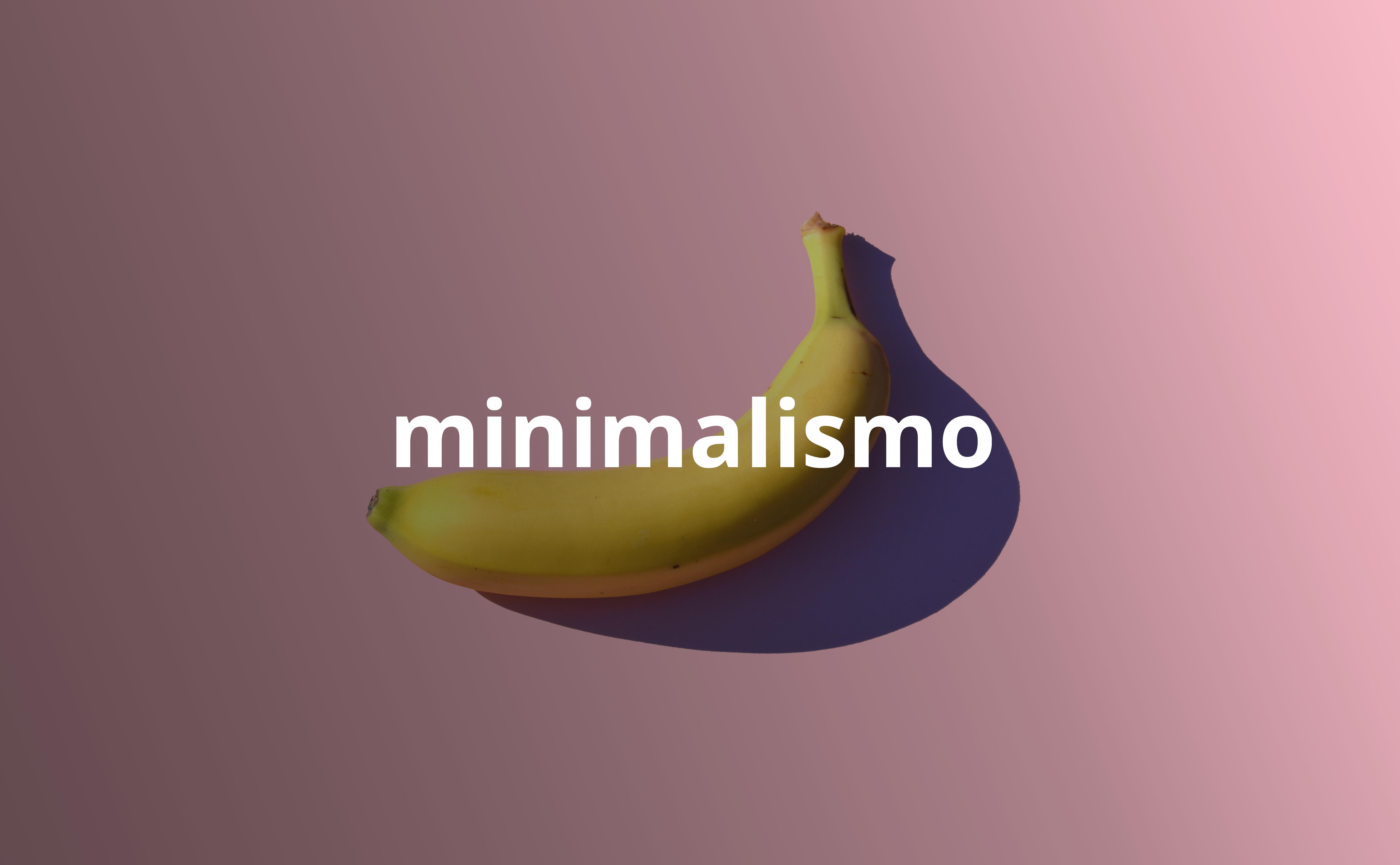 exemplo design minimalista designe