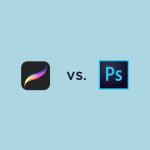 procreate vs photoshop comparativo designe