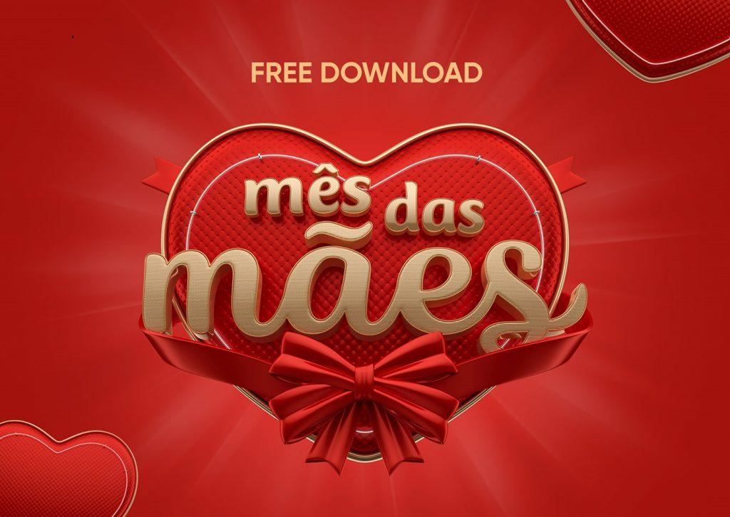 freebie selo dia das maes para download 3 designe 1