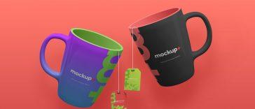 10 modelos de mockup de caneca gratis para download 5 designe