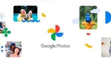 novo logotipo google fotos designe
