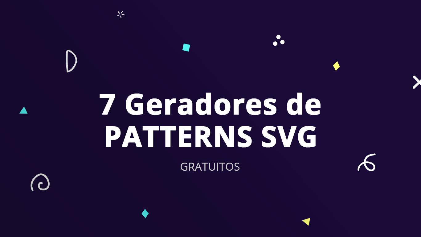 7 geradores gratuitos de patterns svg designe