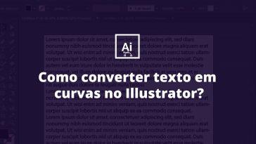 Como converter texto em curvas no Illustrator 1