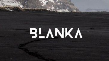 blanka fontes futuristas e modernas gratis designe