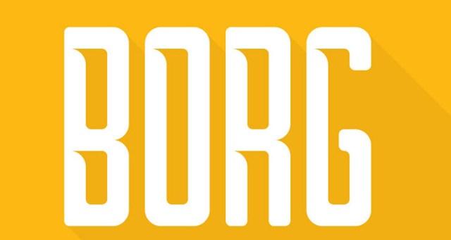 bord fontes futuristas e modernas gratis designe 1