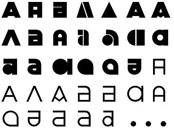 fontes bauhaus julien por Peter Bilak designe