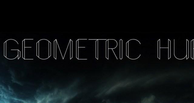 geometric fontes futuristas e modernas gratis designe