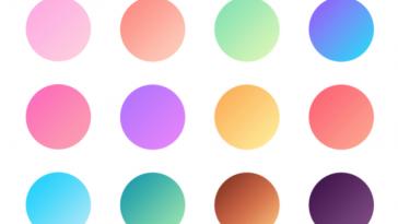 mais de 5 mil gradientes para baixar e usar gratis no photoshop designe