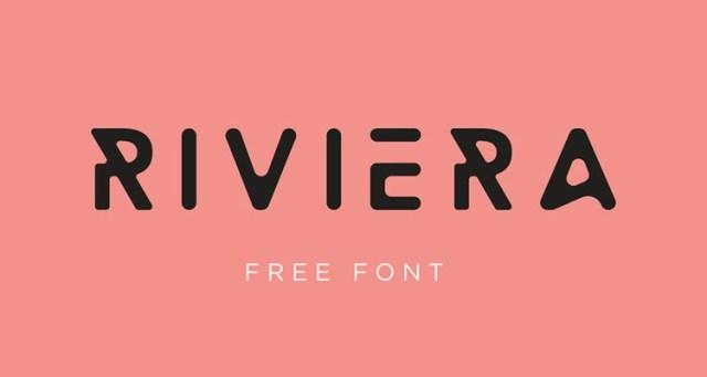 rivieira fontes futuristas e modernas gratis designe