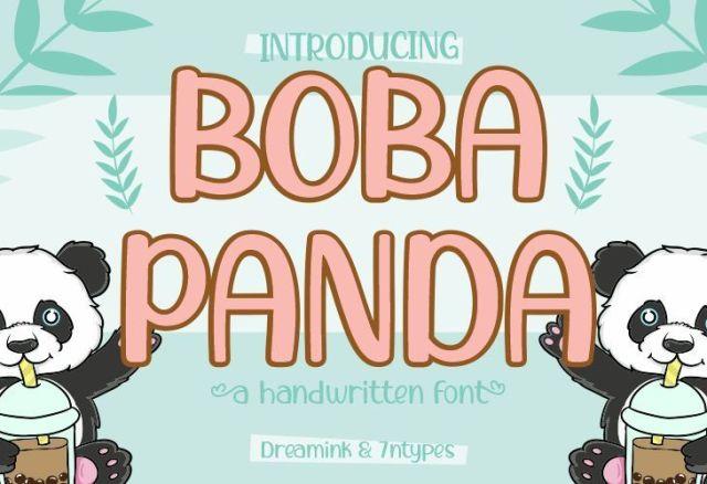 BobaPanda designe