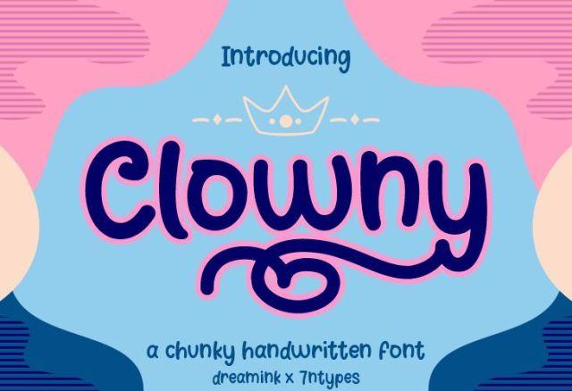 Clowny designe