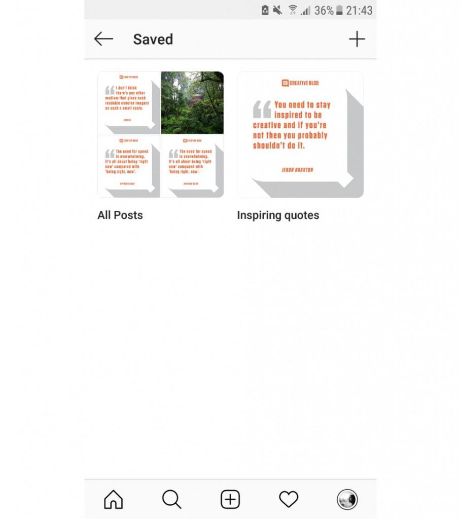 como baixar fotos do instagram salvar colecao 2 designe