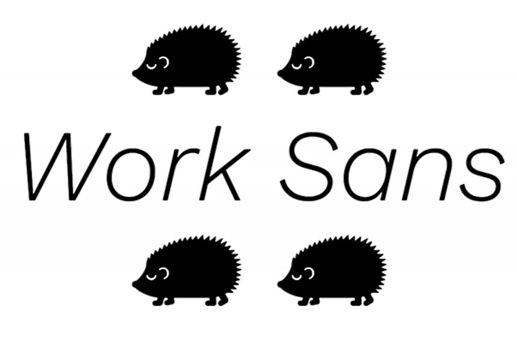 fonte codigo aberto work sans designe