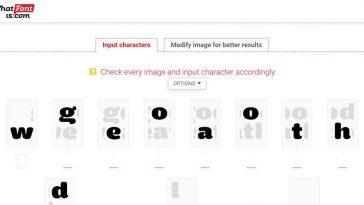 melhores sites e ferramentas para identificar uma fonte designe