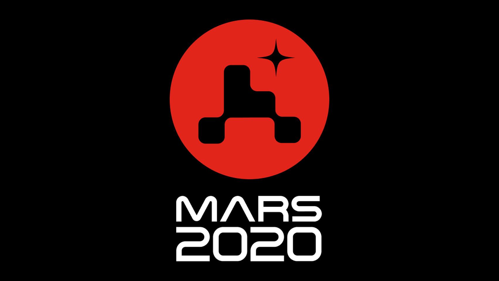 nasa mars 2020 missao logo design designe
