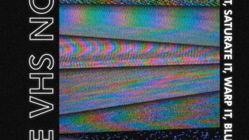 vhs noise textures gratis download designe