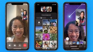 efeitos ar no messenger facebook designe