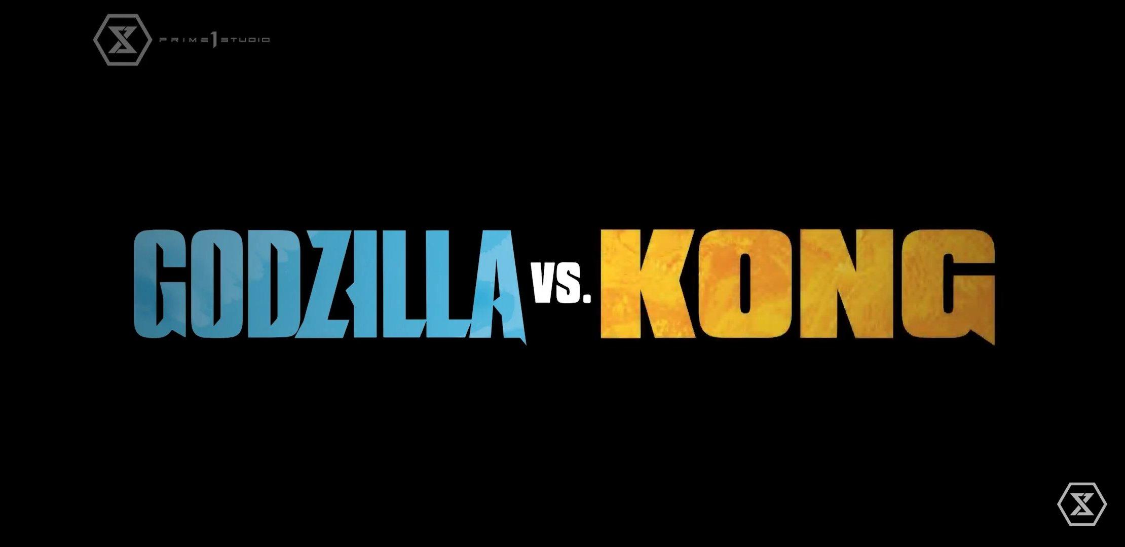 logo godzilla vs kingkong designe