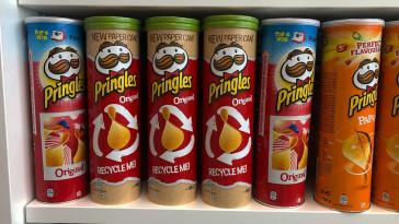 novas embalagens pringles a favor da recliclagem designe