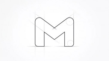 novo projeto de logotipo google gmail designe