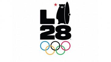 o novo logo olimpiadas 2028 los angeles designe