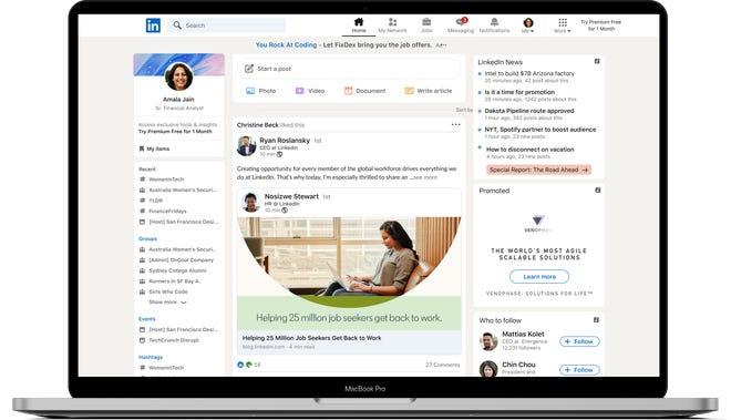 linkedin recebe mais recursos e mudancas designe 1