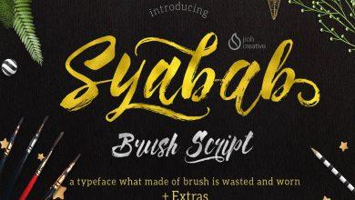 syabab brush script