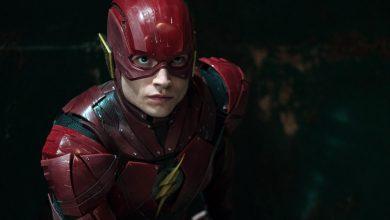 the flash movie filmagens em abril
