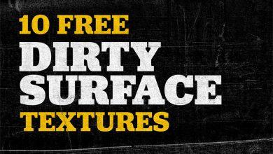 10 texturas dirty surface gratis