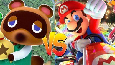 Animal Crossing vs Mario Kart Cover TG