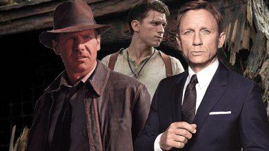Uncharted Indiana Jones James Bond