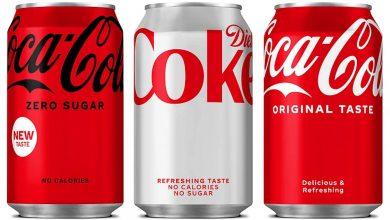 coca cola design redesign minimalista e limpo