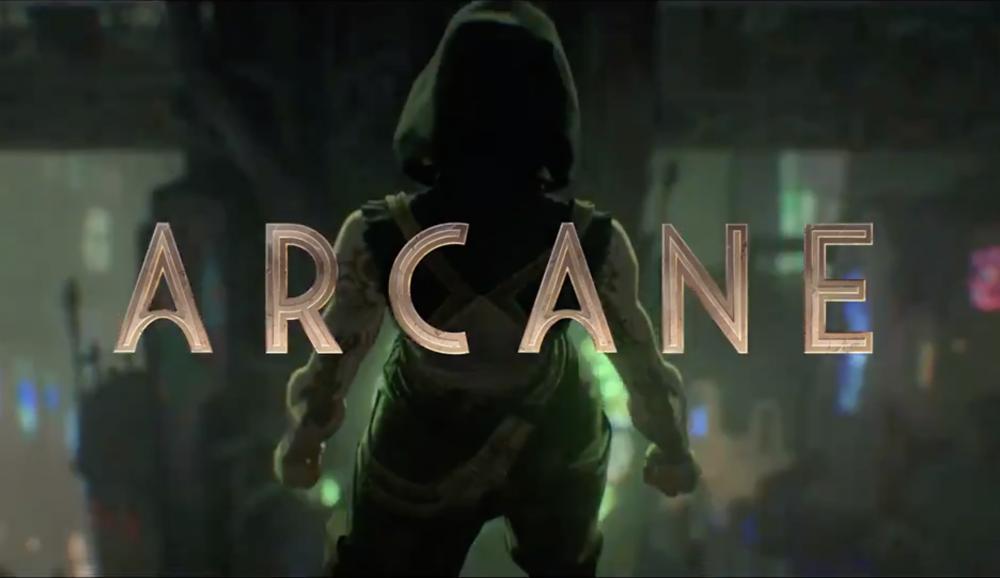 arcane league of legends netflix teaser