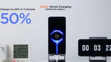 Xiaomi promete carregar um telefone em 8 minutos a 200W