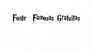 fontes famosas gratuitas