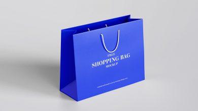 mockup de sacola de compras gratis para baixar