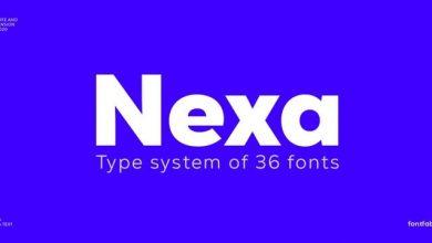 Nexa Fonte para logos