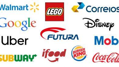 Todos os tipos de logotipo