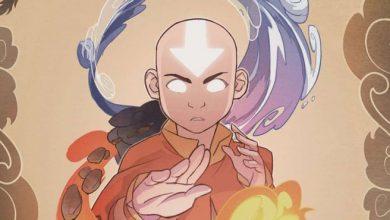 Aang em Avatar o Ultimo Dobrador de Ar