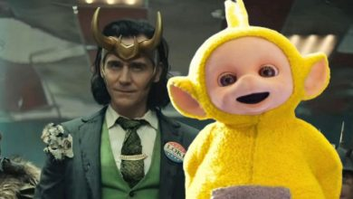 Loki inspirado pelos Teletubbies