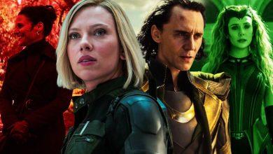 Marvel Fase 4 Viuva Negra Loki Feiticeira Escarlate Multiverso
