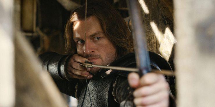 Matt Stokoe como Gawain O Cavaleiro Verde