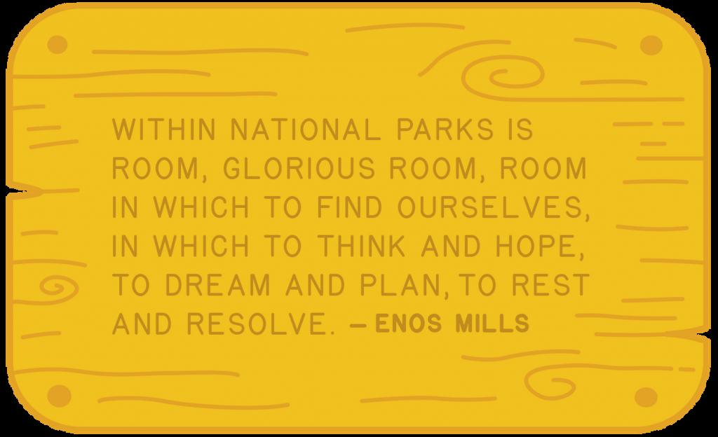 National Park fontes modernas