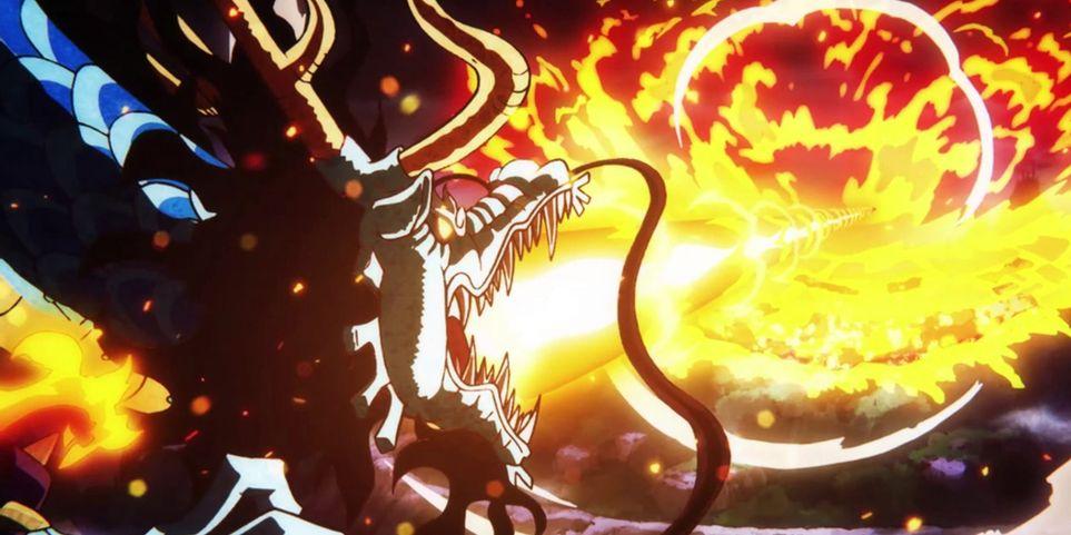 One Piece Kaido como Dragao