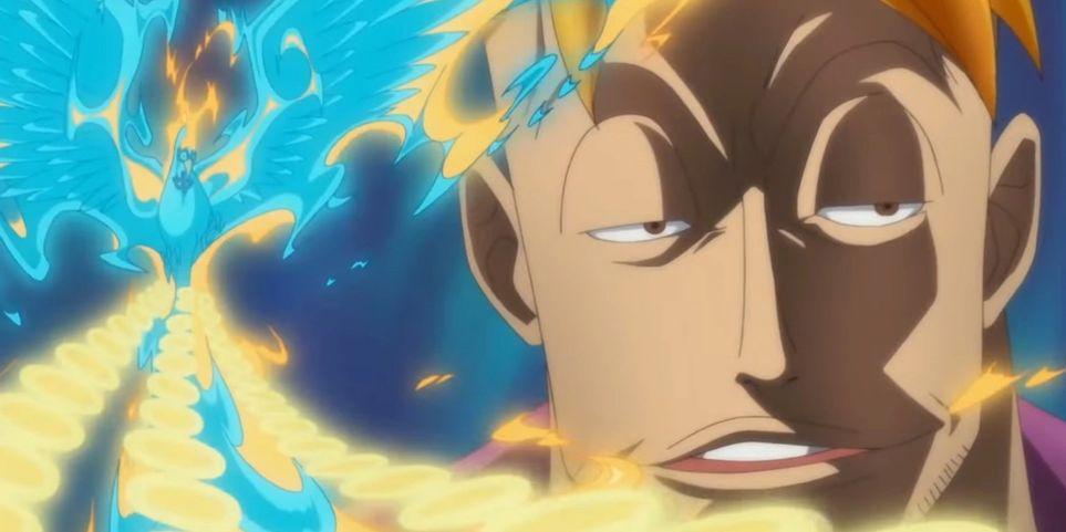 One Piece Marcos humano proximo de sua forma