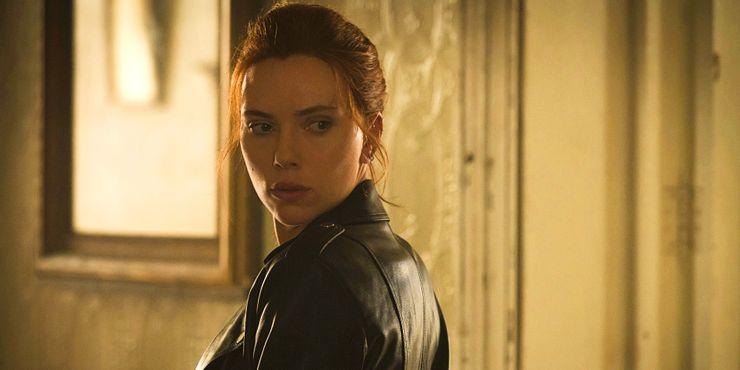 Scarlett Johansson como Natasha Romanoff em Viuva Negra